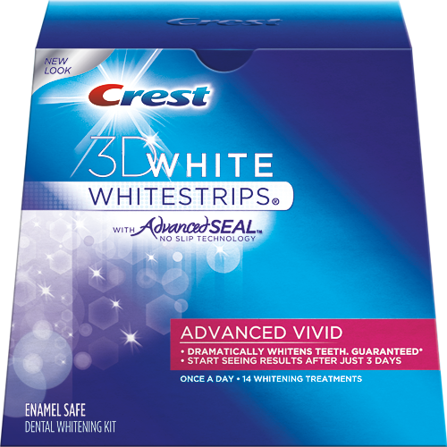 Купить crest whitestrips 3d white advanced vivid