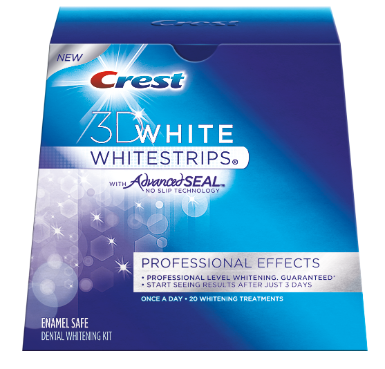 Купить Crest 3D White Whitestrips Professional Effects