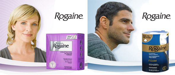 Средство от выпадения волос Rogaine